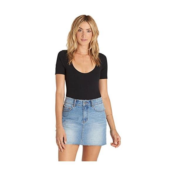 Women's Surfside Mini Denim Skirt 3
