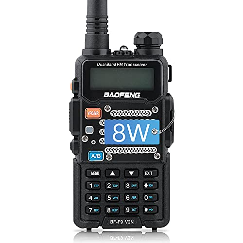 BaoFeng Two Way Radio,Brothers with BF-F8+/The UV-5R,8-Watt Dual Band Radio with 2100mAh Li-ion Battery Portable Walkie Talkies with Includes Full Kit. Buy it now for 39.99