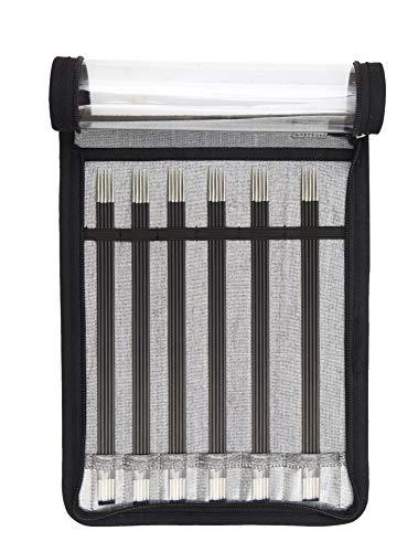 KnitPro 41615 Nadelspiel Set Karbonz 20 cm