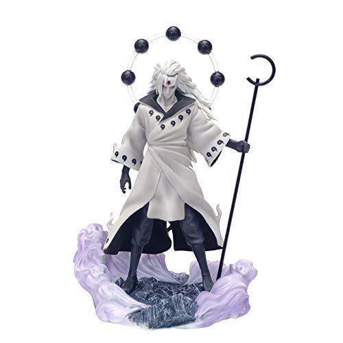 Uchiha Madara Figure Naruto Shippuden Action Figure, 26,5 Cm,White