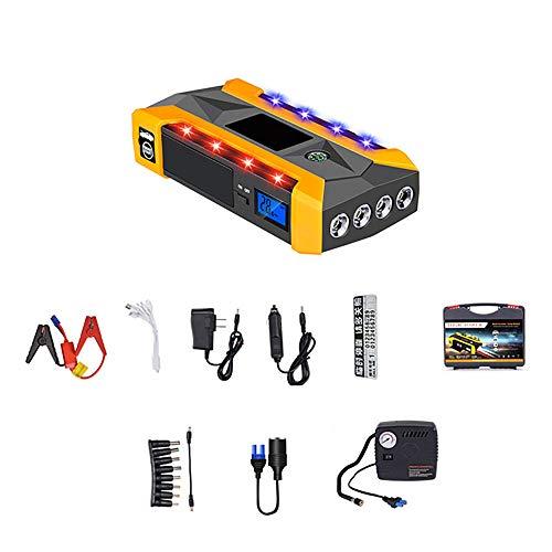 Starthulp voor auto jump starter Power Pack met snel opladen via USB.
