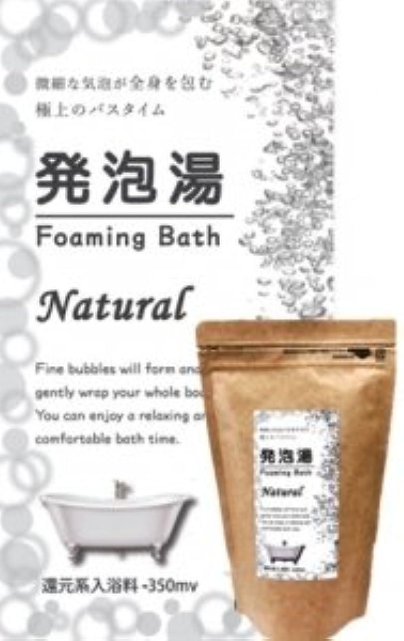 ペストリー禁輸熟達発泡湯(はっぽうとう) Foaming Bath Natural ナチュラルお徳用15回分