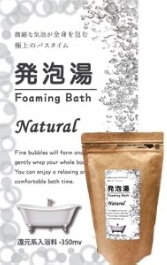 効率的評論家スペア発泡湯(はっぽうとう) Foaming Bath Natural ナチュラルお徳用15回分