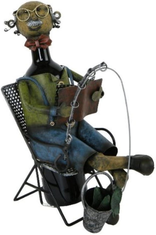 Flaschenhalter  Angler    - die perfekte Flaschenverpackung zum Verschenken B00F9AGY9M 0b04aa