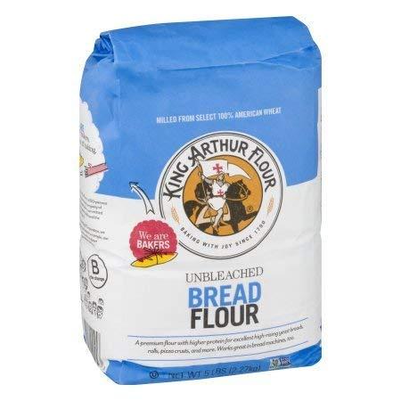 PACK OF 10 - King Arthur Flour Unbleached Bread Flour, 5.0 LB