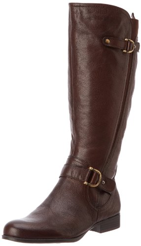 Hot Sale Naturalizer Women's Jersey Wide Shaft Knee-High Boot,Brown,8 M US