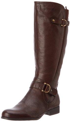 Hot Sale Naturalizer Women's Jersey Wide Shaft Knee-High Boot,Brown,7.5 M US
