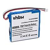 vhbw Li-ION Batterie 700mAh (3.7V) pour système de Navigation GPS Tomtom 4EN.001.02, 4EN42, 4EN52, 4EV42, 4EV52, Start 20, Start 25
