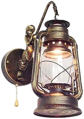 De alta calidad de cuerpo de la lámpara de hierro forjado y vidrio pantalla de la lámpara, iluminación decorativa perfecta, el uso a largo plazo es inofensivo, ecológico y saludable, así que traiga una sensación de calor para su hogar.Es un producto ...