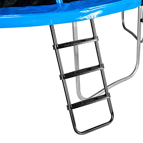 Zoomster Trampoline Ladder, 3-Step Universal Trampoline Ladder Accessories for Children Kids,...