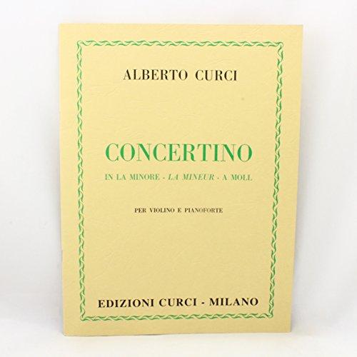 Concerto in la minore per violino e pianoforte