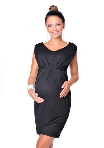 Purpless Stunning Sleeveless V Neck Maternity Pregnancy Dress Dresses Top D8437