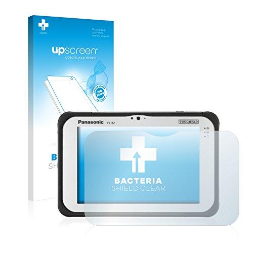 upscreen Antibakterielle Schutzfolie kompatibel mit Panasonic Toughpad FZ-B2 klare Bildschirmschutz-Folie