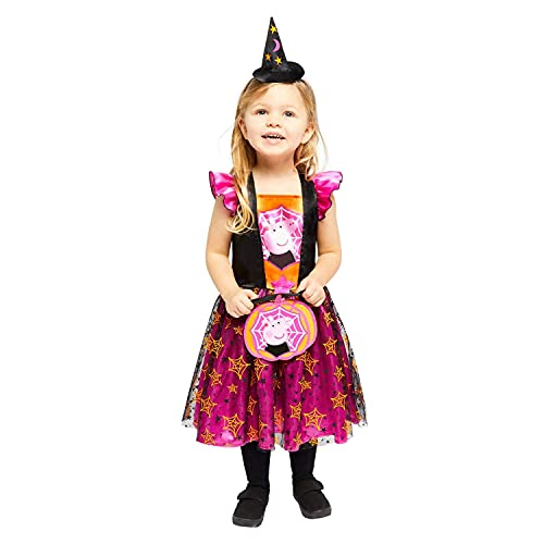 Amscan 9907554 Child Girls Official Peppa Pig Licensed Halloween Fancy...