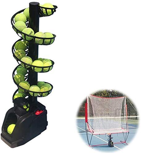 LCC Tennis Ball Machine Esercizio all'aperto Portatile Self-Study Strumento di Formazione di addestramento di Pratica Ingranaggi Servire Ping Pong Pitcher per i Bambini Principianti Player