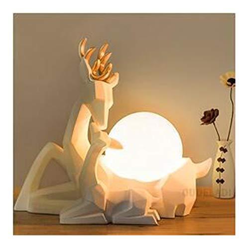 HGDH Iluminación Moderna Lámpara de Escritorio Personalizada Sala de Bodas Regalo romántico de la lámpara de Mesa Moderna lámpara Creativa habitación cálida decoración de cabecera