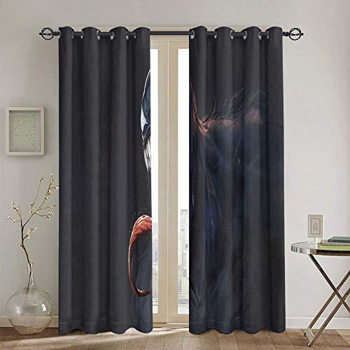 Verdunklungsvorhang für Wohnzimmer,...