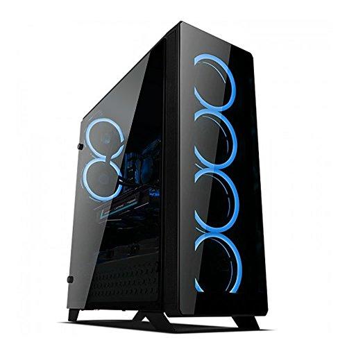 P75 Sync-RGB-Gaming-Gehäuse, Schwarz