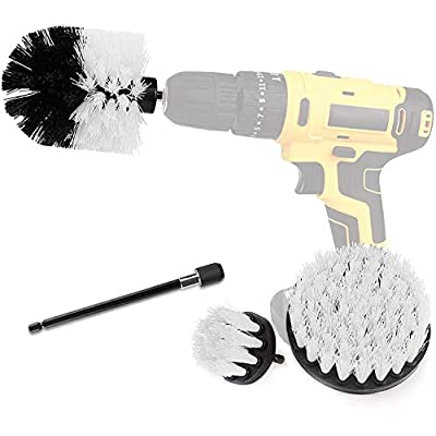 Drill Brush Power Scrubber Brush Cleaning Set 4...