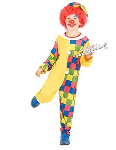 Costume clown bambino 7/9 anni (122/134)