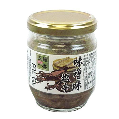 みそ味いか塩辛 150×6瓶 国産するめ 味噌の効果で 生臭みの無い逸品