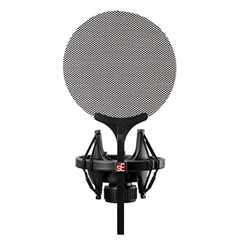 sE Electronics - Shockmount and Pop Filter for X1 Series and SE2200