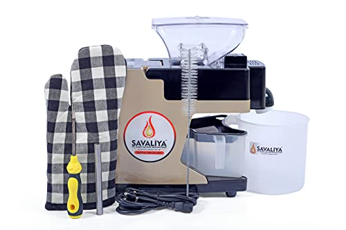 Savaliya Industries Fully Automatic Home Use Cold Press Oil Maker...