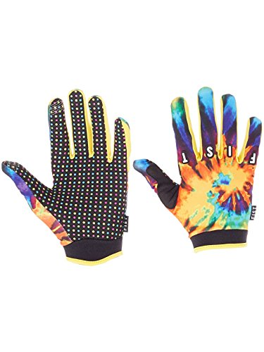 Fist Handwear Tie Dye Orange Handschuhe | Multicolor | S