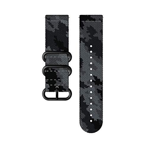 Suunto, Traverse, Cinturino in Tessuto, Unisex - Adulto, Concrete/Black