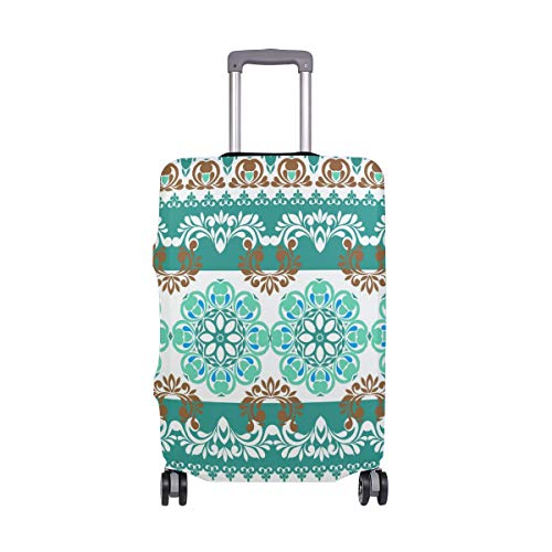 Best Bargain SUABO Travel Luggage Cover Suitcase Protector Dustproof Luggage Cover Fits 18 to 32 Inc...