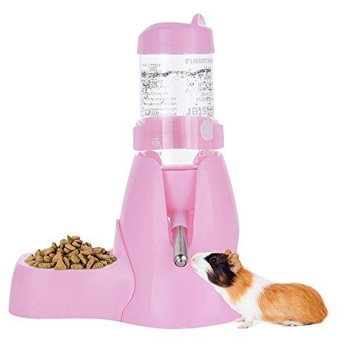 ShareWe Bottiglia d\'Acqua Animali Distributore Automatico di Acqua per Roditori Coniglietto Ferret Criceti Porcellini d\'India Animali Domestici