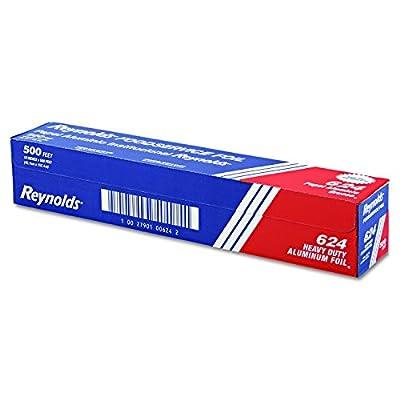 624 500' Length x 18 Width, Heavy-Duty Aluminum Foil Roll