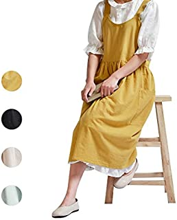 pinafore dress cotton