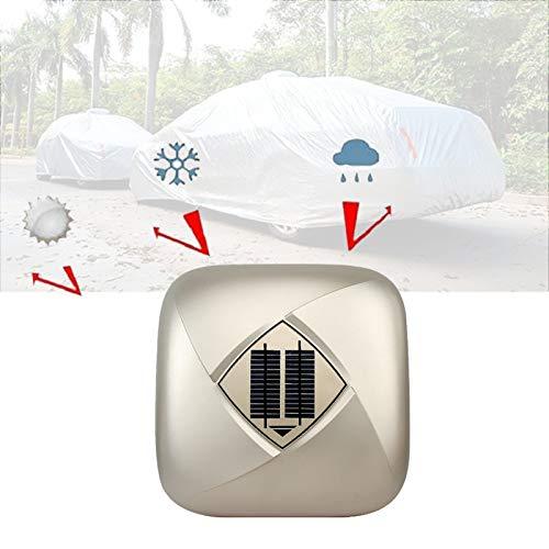 Enwebalay Funda para Coche, Cubierta de Coche Triple Antirrobo Carga Solar, Funda Coche SUV Cuatro Estaciones, ProteccióN Solar Y Aislamiento TéRmico,Oro,High Matching