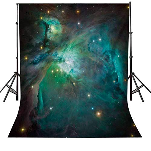 Space 6.5x10 FT Photography Backdrop, Majestic Orion Nebula Dust Cloud Celestial Energy Plasma Astronomical Object Picture Background for Baby Shower Bridal Wedding Studio Photography Pictures