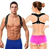 Back Posture Corrector for Women, Men & Kids by XD Lifestyle - Easy-Adjustable Front Strap - Discreetly...