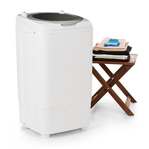 oneConcept Ecowash Deluxe 7 - Lavatrice Campeggio, Con Centrifuga