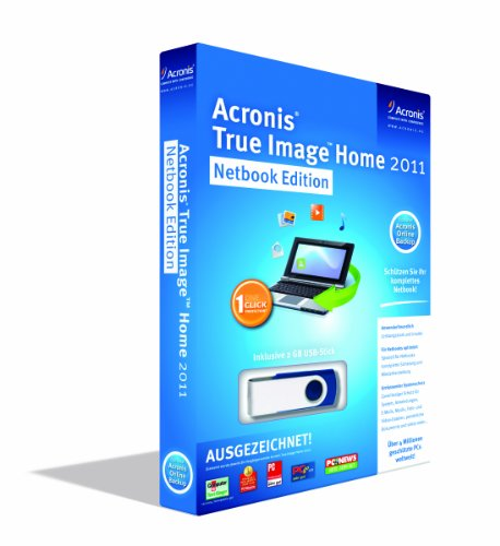 Acronis True Image Home 2011 Netbook Edition