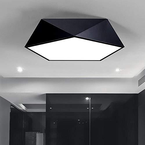 Geometrische plafondlamp eenvoudige moderne Scandinavische persoonlijkheid creatieve sfeer woonkamer eetkamer