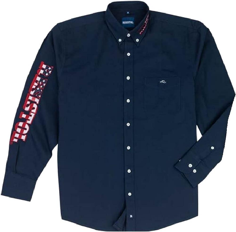 RESISTOL Men's Team USA Long Sleeve Button Down Shirt