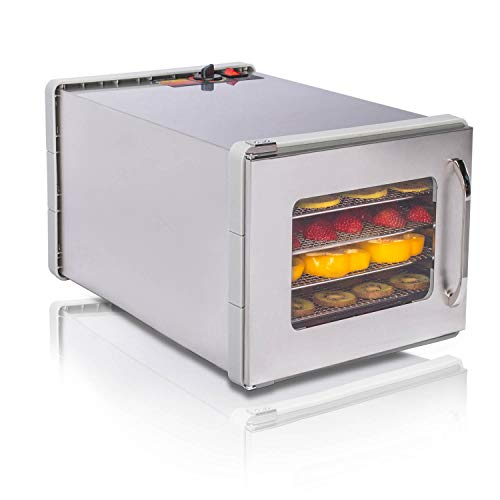 JAYETEC Food Dehydrators,Commercial Stainless Steel...