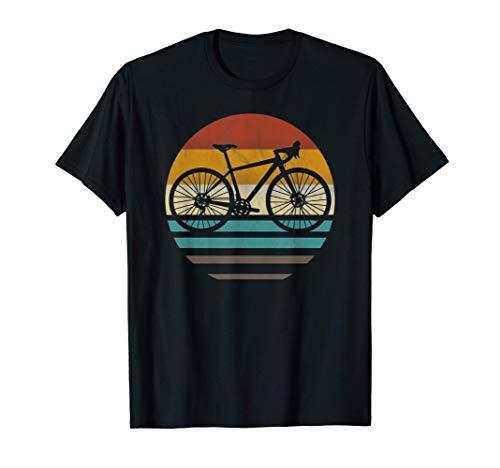 Gravelbike gravel road bike regalo retrò vintage Maglietta