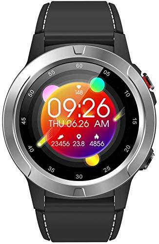 YSSJT Reloj inteligente con soporte GPS independiente, barómetro, brújula, altitud, ritmo cardíaco y actividad, podómetro, contador de calorías, color plateado