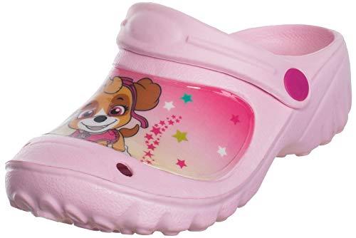 Brandsseller - Zapatillas de casa para niños y niñas, con logotipo de Paw Welpen, color Rosa, talla 30/31 EU