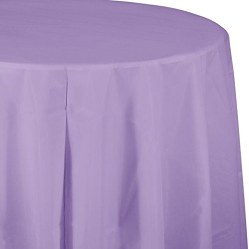 Round Table Cover Lilac