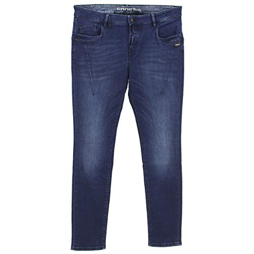 Gang, Georgina Deep Crotch, Damen Damen Jeans Hose Stretchdenim Blue Used 32W [23577]
