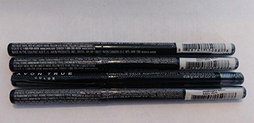 Avon Glimmersticks Waterproof Eye Liner - Midnight Blue LOT 4 Pcs.