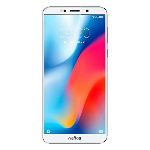 TP-Link TP707C64MX Smartphone Neffos C9 5.99', color Plata. Desbloqueado