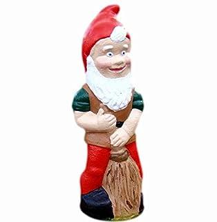 Tradesmen Gnomes Pixieland Traditional Ornament Sweeper Handmade