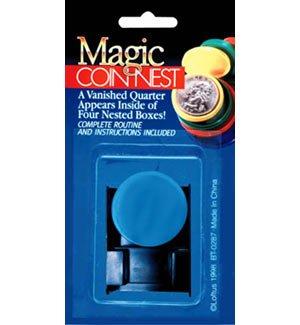 HobbyTron.com Magic Coin Nest Coin Magic Trick
